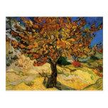 Bella arte del árbol de mora de Van Gogh (F637) Tarjetas Postales