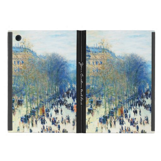 Bella arte del DES Capucines Claude Monet del bule iPad Mini Carcasas