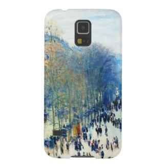 Bella arte del DES Capucines Claude Monet del Funda Para Galaxy S5