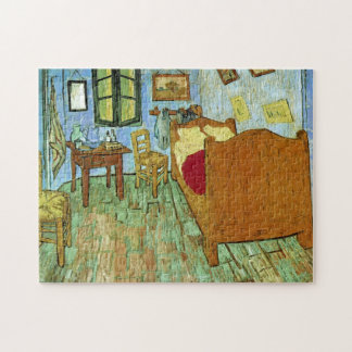 Bella arte del dormitorio de Van Gogh (F484) Puzzles