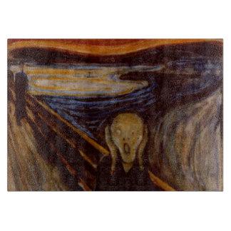 Bella arte del expresionismo el grito Edvard Munch Tabla De Cortar
