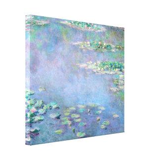 Bella arte del impresionismo de los lirios de agua