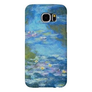 Bella arte del impresionismo de Nympheas Claude Fundas Samsung Galaxy S6