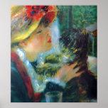 Bella arte del impresionismo de Renoir del chica y Posters