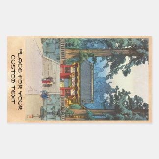 Bella arte del japonés de Hiroshi Yoshida de la Rectangular Altavoces