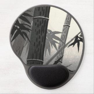 Bella arte del japonés del bambú y de Sun de Tokur Alfombrillas Con Gel