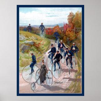 Bella arte del siglo XIX del Victorian de la alta  Poster