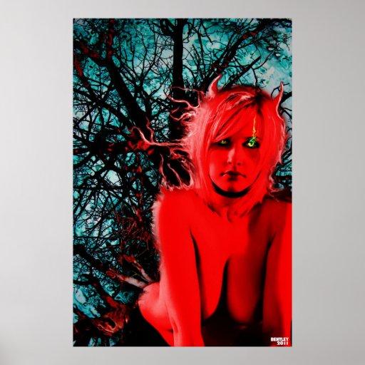Bella arte del súcubo de Cristina Poster