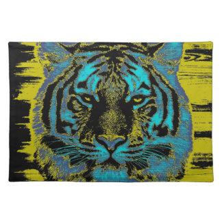 Bella arte del tigre - Placemats Mantel Individual