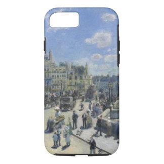 Bella arte del vintage de Auguste Renoir Pont Neuf Funda iPhone 7