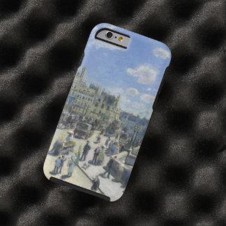 Bella arte del vintage de Auguste Renoir Pont Neuf Funda Resistente iPhone 6