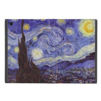 Bella arte del vintage de la noche estrellada de iPad mini cárcasas