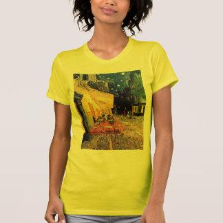 Bella arte del vintage de la terraza del café de V Camisetas