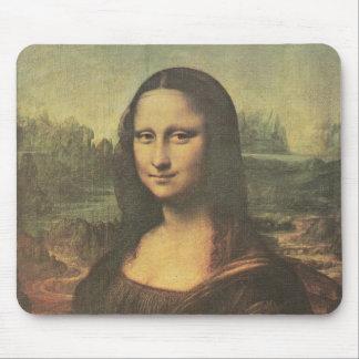 Bella arte del vintage de Mona Lisa Alfombrilla De Raton