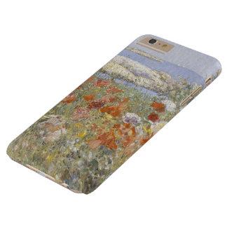 Bella arte del vintage, el jardín de Celia Thaxter Funda Para iPhone 6 Plus Barely There