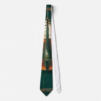 Bella arte del vintage, vieja todavía del violín corbata