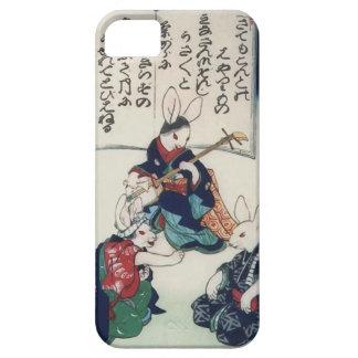 Bella arte epidémica de Kuniyoshi del conejo de Funda Para iPhone SE/5/5s