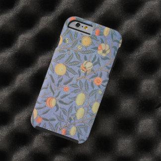 Bella arte floral del vintage de la granada de funda para iPhone 6 tough