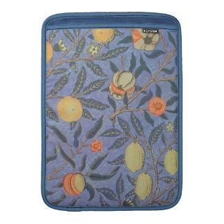 Bella arte floral del vintage de la granada de funda para macbook air