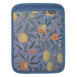 Bella arte floral del vintage de la granada de funda para iPads
