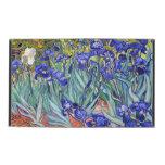 Bella arte floral del vintage de los iris de iPad protectores