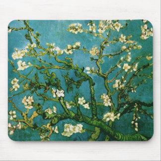 Bella arte floreciente de Van Gogh del árbol de Alfombrilla De Ratón