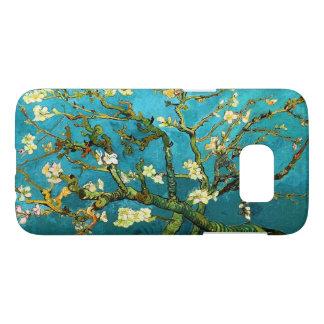 Bella arte floreciente de Van Gogh del árbol de Fundas Samsung Galaxy S7