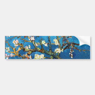 Bella arte floreciente de Van Gogh del árbol de Pegatina Para Auto