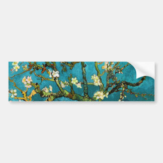 Bella arte floreciente del árbol de almendra de pegatina para auto