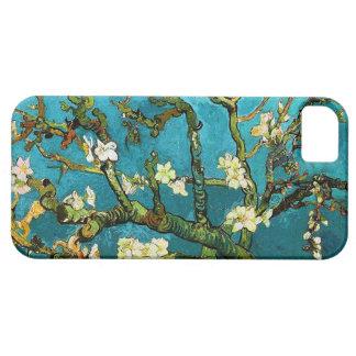 Bella arte floreciente del árbol de almendra de Va iPhone 5 Protectores