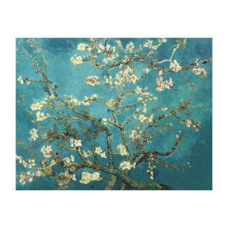 Bella arte floreciente del vintage del árbol de al impresiones en lienzo estiradas