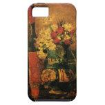 Bella arte romántica de Van Gogh con los rosas y iPhone 5 Carcasas