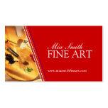 Bella arte - tarjetas de visita