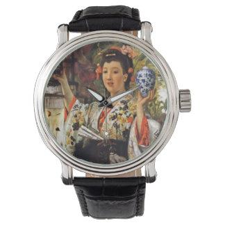 Bella arte y diversión reloj de mano