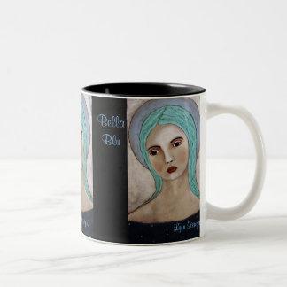 Bella Blu Angel Two-Tone Coffee Mug