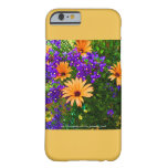 Bella Blue and Orange iPhone 6 Case Yellow Accent