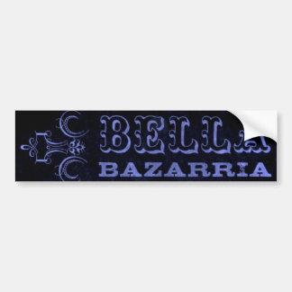 BELLA -Blue logo - bumpersticker Car Bumper Sticker