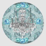 Bella Blue Marie Antoinette sticker or seal