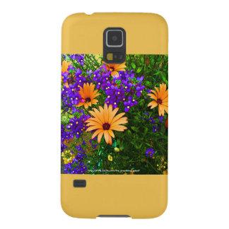 Bella Blue & Orange Samsung S5 Case Yellow Accent