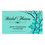 Bella Bridal Floral Arrangements Special Thanks Double-Sided Standard Business Cards (Pack Of 100)