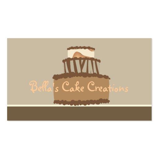 Bella Cake Business Card (front side)