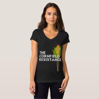Bella+Canvas V-Neck Tee - The Cornfield Resistance