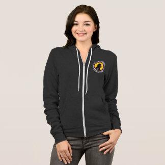 Bella Canvas Zip Hoodie: Science Smart Cavewoman Hoodie