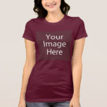 """Bella Crew Neck Women's T-Shirt<br><div class=""""desc"""">Design your own bella womens crew neck shirt! Our design tool allows you to upload & add your own artwork, design, or images to make a one-of-a-kind bella womens crew neck shirt. Add text using awesome fonts and view a preview of your design. Our easy to customize bella womens crew...</div>"""