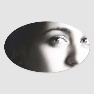 Bella Cubana Oval Sticker