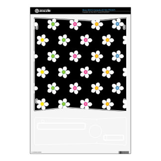 Bella Daisies Decal For The Xbox 360 S