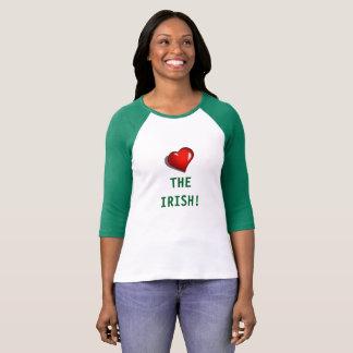 Bella de las mujeres+Camiseta de la manga de la Polera