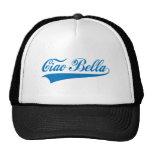 bella del ciao, saludo italiano, diseño del texto gorras