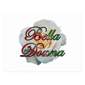 Bella Donna (Beautiful Lady) Postcard