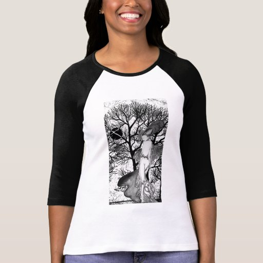 Bella Donna T'shirt de largo envuelto Camisetas